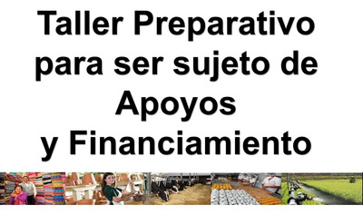 Mini Taller Preparativo Para Ser Sujeto De Apoyo O Financiam