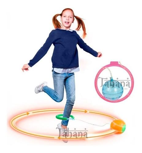 Skip Ball Luces Cuerda De Tobillo Saltar Niño Juguete Cardio