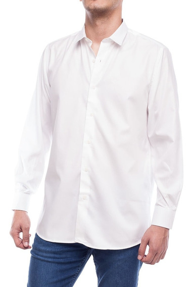 Camisa De Hombre Lisa Pato Pampa Blanca