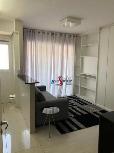 Studio Com 1 Dormitório Para Alugar, 40 M² Por R$ 2.700,00/mês - Jardim Anália Franco - São Paulo/sp - St0037
