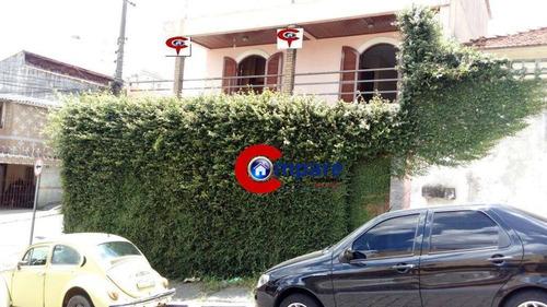 Imagem 1 de 19 de Sobrado À Venda, 240 M² Por R$ 500.000,00 - Jardim Santa Mena - Guarulhos/sp - So1693