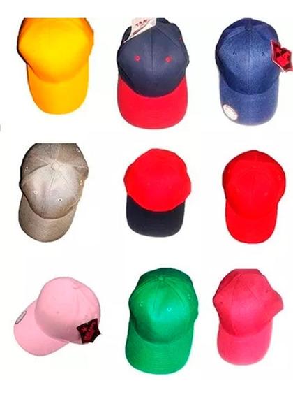 4 Gorras Deportivas Diferentes Colores, Venta Al Mayor (2 $)