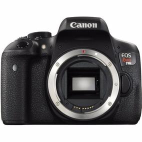 Canon Eos Rebel T6i 24.2 Mpixels ( Só Corpo)