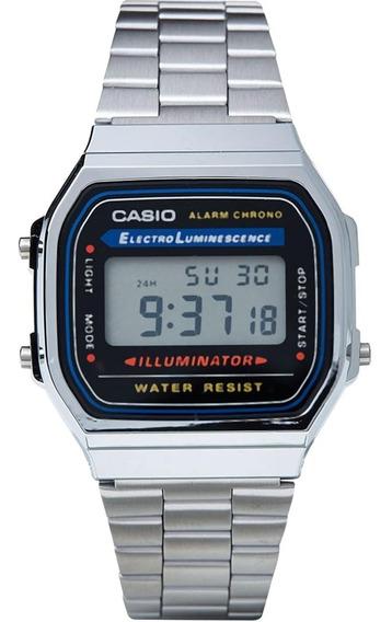 Relógio Casio Vintage Unisex A168wa-1wdf