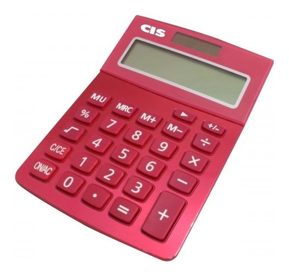 C-219/12 Calculadora Mesa 12 Dígitos Azul
