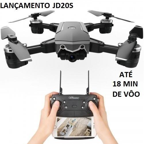 Drone Jdrc Jd-20s Pro 5mp 18mins Zerado