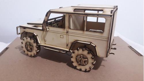 Kit Para Montar De Uma Land Rover Cabine Simples
