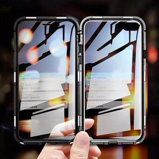 Capa Magnetica Vidro Frente Verso iPhone 7 Plus 8 Plus
