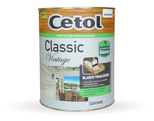 Cetol Classic Vintage  X 4 Litros Oferta Pintunet2007