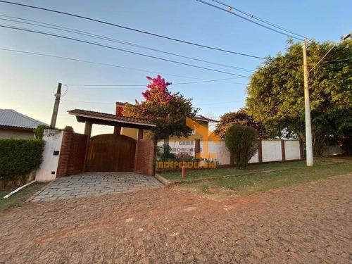 Chácara À Venda, 1000 M² Por R$ 848.000,00 - Parque São Gabriel - Itatiba/sp - Ch0133