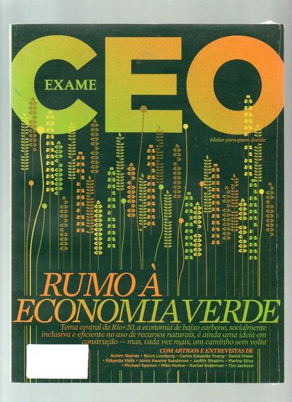 Revista Exame Ceo Abril 2012 - Rumo À Economia Verde