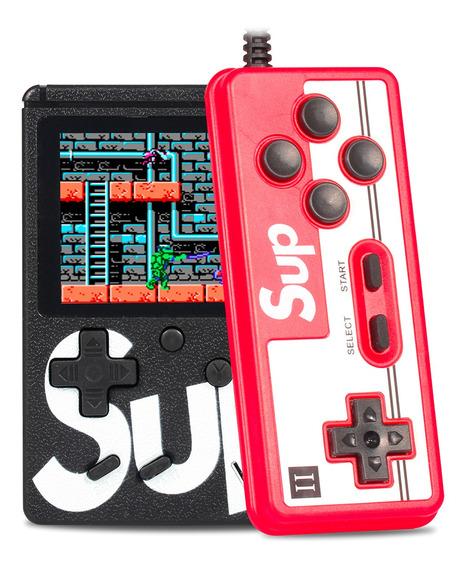 Vídeo Game Portátil Sup Game Boy 400 Jogos Retro Clássico Nes Gba Sega Controle Multiplayer Ligue Tv