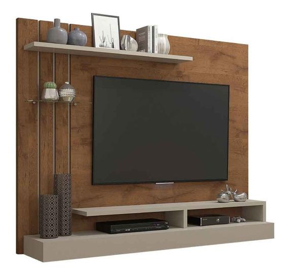 Painel Para Tv Até 47 Polegadas 100% Mdp Valência Savana/off White Permobili