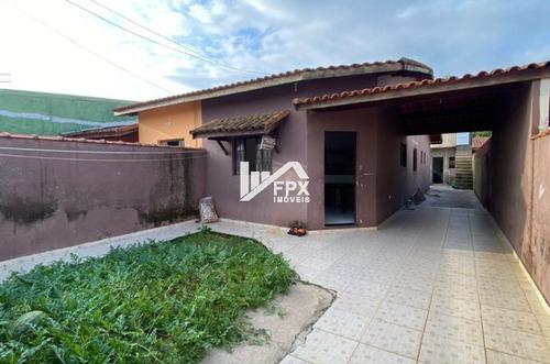 Imagem 1 de 14 de Casa Com Edícula No Lado Praia  Em Itanhaém - Ca418-f
