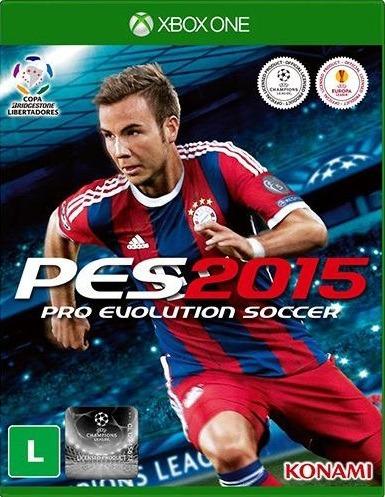 Jogo Pes 2015 - Xbox One - Original - Totalmente Português