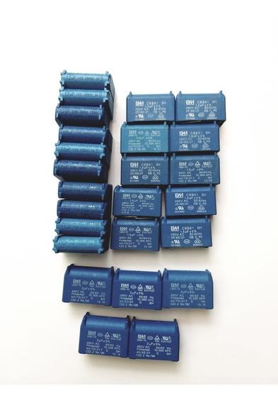 Capacitor Placa Eletronica Ar Split Kit Com 34 Pcs