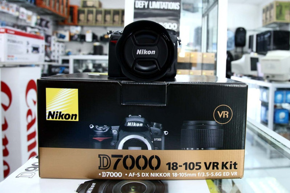 Nikon D7000 + Kit ( Bolsa Tripé Grip 18x105 64gb )
