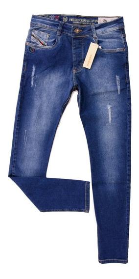 Calça Jeans Masculina Diesel Original Slim Fit C/ Stretch
