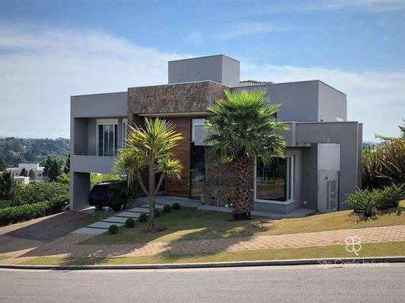 Casa Com 5 Dormitórios, Sendo 5 Suítes, À Venda, 512 M² Por R$ 4.350.000 - Alphaville Granja Vianna - Granja Viana - Carapicuíba/sp - Ca1748