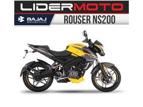 Bajaj Rouser 200ns - Color Amarilla 2018 - Lidermoto
