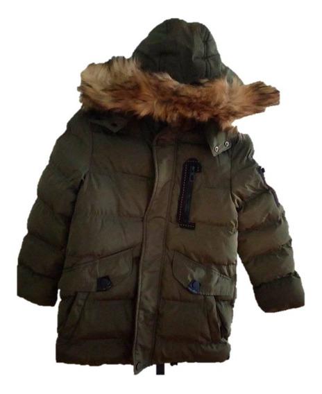 Chamarra Niño Cazadora Invierno Frío Forro De Polar
