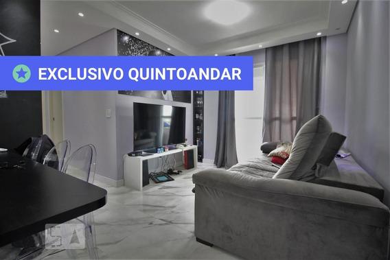 Apartamento No 16º Andar Mobiliado Com 2 Dormitórios E 2 Garagens - Id: 892987792 - 287792