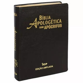 Bíblia Apologética Com Apócrifos Icp Edição Ampliada - Vinho
