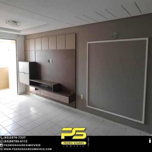 Apartamento Com 3 Dormitórios À Venda, 94 M² Por R$ 369.000 - Manaíra - João Pessoa/pb - Ap4993