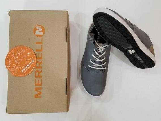 Zapatillas Merrell Hombre Talle 42.5 Cuero Elegantes Nuevas