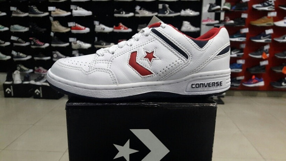 Zapatillas Converse Weapon 86 Ox Retro Blancas -envio Gratis