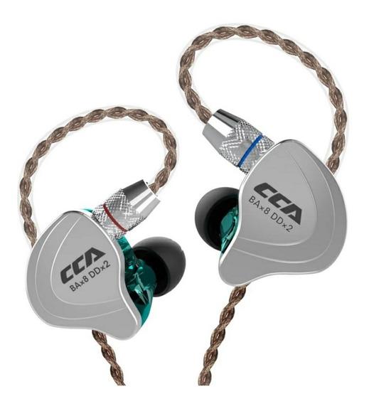 Fone De Ouvido Intra Auricular Cca C10 Sem Microfone