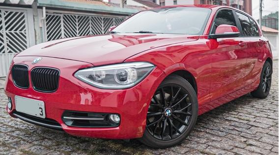 118ia Sport 1.6 Turbo Automatico 2013 Vermelha Completo !!
