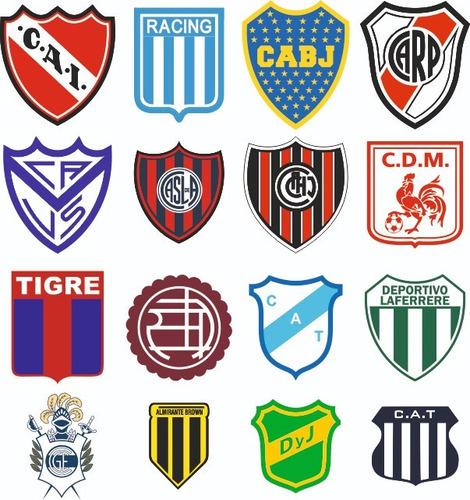 Pack Vectores Escudos De Futbol Argentino Mercado Libre