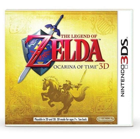 The Legend Of Zelda Ocarina Of Time 3d 3ds Mídia Física