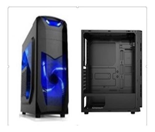 Case Xcon Gaming (mod.cl-x3b)-2x Led Fans Azul- 650w Power