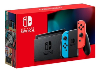 Consola Nintendo Switch Version 2019 Entrega Oficina Chacao