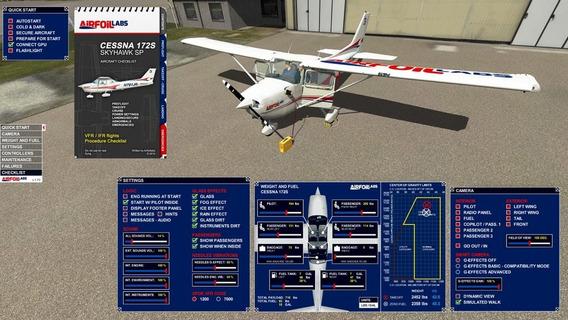 Airfoillabs Cessna 172sp V1.5 (xplane 11)