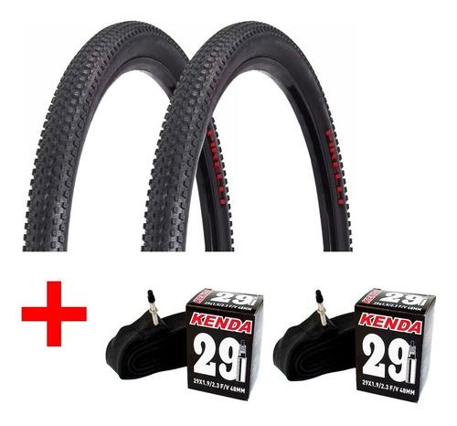 2 Pneus Bike Pirelli Scorpion Pro 29x2.20 + Câmaras Kenda