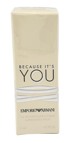 Imagen 1 de 1 de Because It's You Edp 15ml Emporio Armani / Prestige Parfums