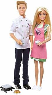 Set De Cafe Barbie Y Ken
