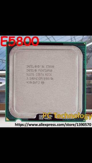 Processador Intel Pentium Core 2 Duo E5800 3,20 Ghz 2m