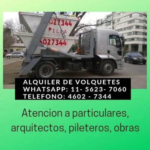 Imagen 1 de 5 de Alquiler De Volquetes En Villa Del Parque, Devoto, Paternal