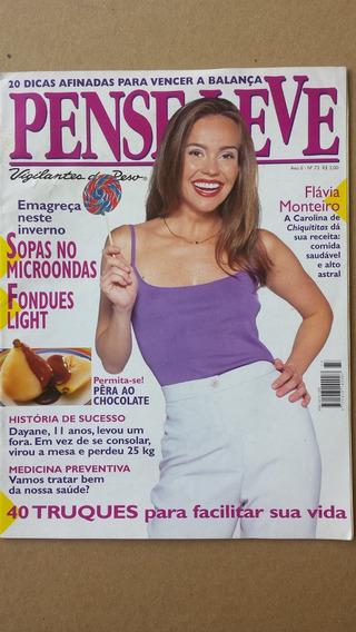 Revista Pense Leve Flávia Monteiro Ano 6 Nº 73