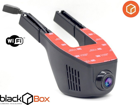 Câmera Veicular Black Box Gp One - Hd Real + Wifi