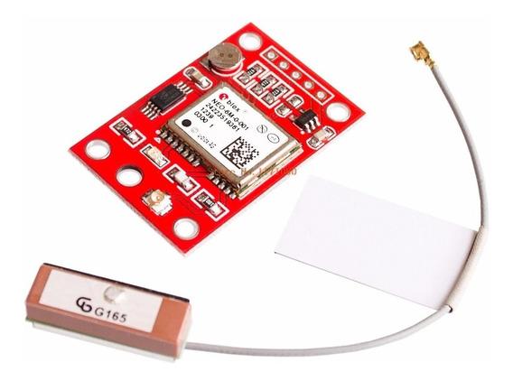 Modulo Gps Gy-neo6mv2 Antena Arduino Raspberry Localizador