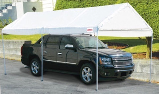 Carpa Para Vehiculos Movible De 3 X 6 Mts 62858hf