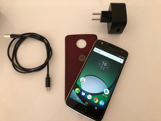 Celular Moto Z 1 Play 32gb Motorola Conservado Smartphone