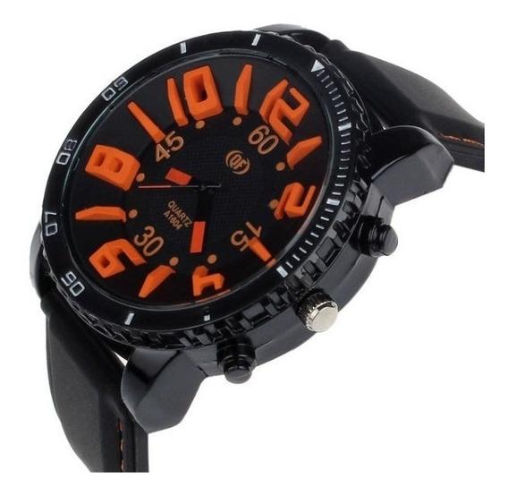 Relógio Masculino, Ponteiro, Importado, Número Grande,