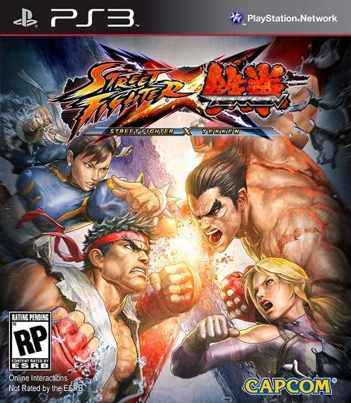 Street Fighter Vs Tekken Jogos Ps3 Pronta Entrega