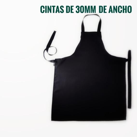 Delantal Con Pechera - Mozo Mesera - Tropical Mecanico - Antimancha, Antiarrugas, Secado Rapido